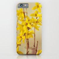 Spring Botanical - Forsythia Still Life iPhone 6 Slim Case