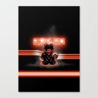 BRAUN - The Bearginning Canvas Print