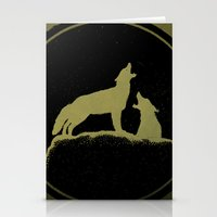 The Howling Stationery Cards