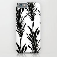 Black Leaves iPhone 6 Slim Case