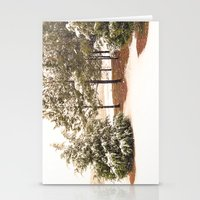 Sprinkled with Snow Stationery Cards