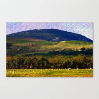 The Pyrenees - Australia… Canvas Print