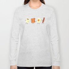 Let's All Go And Have Breakfast Long Sleeve T-shirt