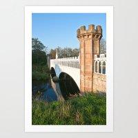 Eglinton Park Bridge  Art Print