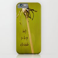iPhone & iPod Case featuring Beauty is in the Eye of the Beholder by Maite Pons