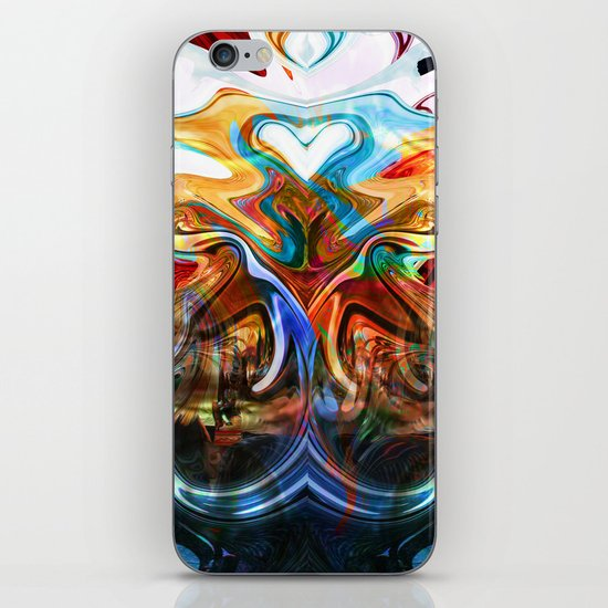 liquified space iPhone & iPod Skin