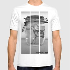 Human Speciman Mens Fitted Tee White SMALL