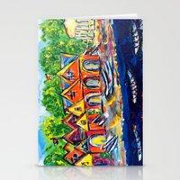 Boathouse Row  Stationery Cards