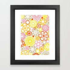 BOLD & BEAUTIFUL sunshine Framed Art Print