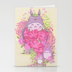 My Floral Forest Spirit Stationery Cards