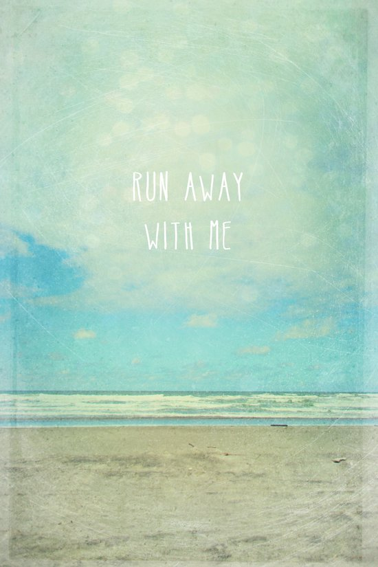 run away with me Canvas Print
