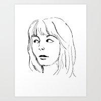 That Look Art Print