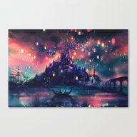 The Lights Canvas Print
