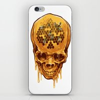 Skull Of Honey iPhone & iPod Skin