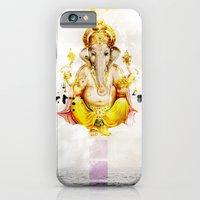 iPhone & iPod Case featuring Ganesha by Olga Whass