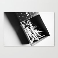 Matches Pattern #3 Canvas Print