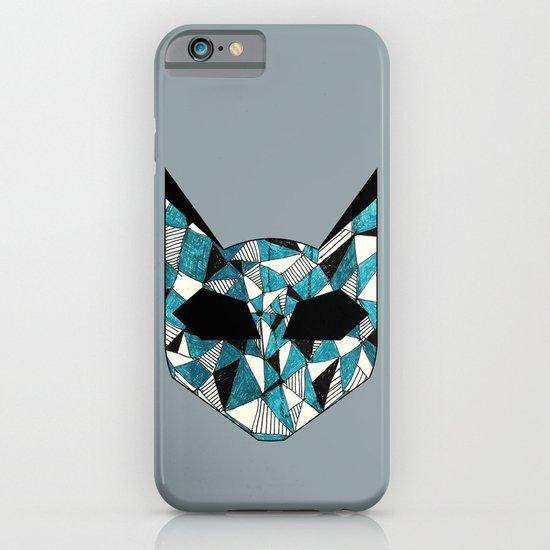 Turquoise Cat iPhone & iPod Case