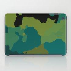 Colorful Camo iPad Case