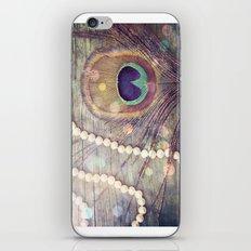 Feathers & Pearls iPhone & iPod Skin