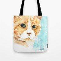 Stan The Grumpy Cat Tote Bag