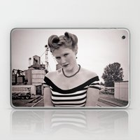 Railway pinup Laptop & iPad Skin