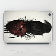 Raven and Heart Grenade iPad Case