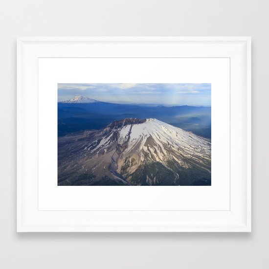 Caldera Framed Art Print