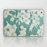 White Lace - Photo Of Vi… Laptop & iPad Skin
