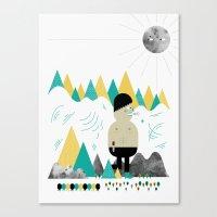 Giant! Canvas Print