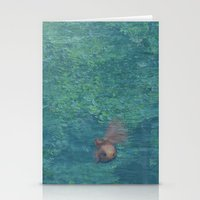 Being A Gold Fish Stationery Cards