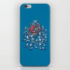 Blue Horde iPhone & iPod Skin