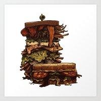 Burger I / Color Art Print