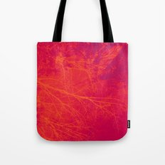 Saturated Branches Tote Bag