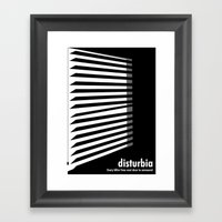 Disturbia Framed Art Print