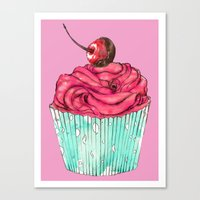 Creative Cupcake... Canvas Print