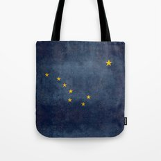 Alaska State Flag, Vintage retro version Tote Bag
