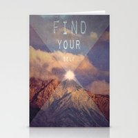 FIND YOUR SELF Stationery Cards