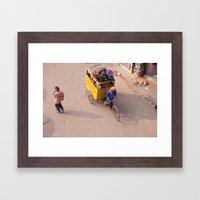 India New Delhi Paharganj 5557 Framed Art Print