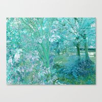 Summer of cristal Canvas Print