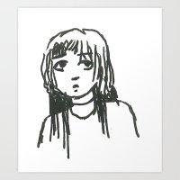 Gormless Art Print