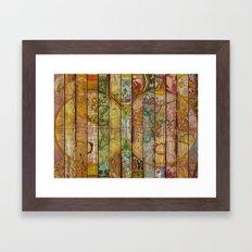Around The World In Thir… Framed Art Print
