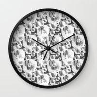 Abstract Pattern #1 Wall Clock