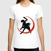 Assassin Womens Fitted Tee White SMALL