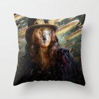 Clockwork Orange Throw Pillow