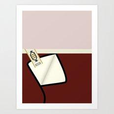Kirk - TMP -Open - Minim… Art Print