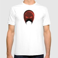 The Cowl: Daredevil Mens Fitted Tee White SMALL