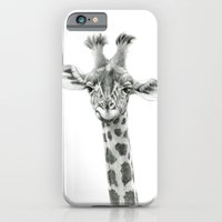 iPhone & iPod Case featuring Young Giraffe  G2012-053 by S-Schukina