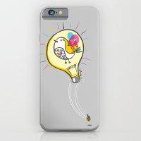 Riding a Bird in a Buld iPhone 6 Slim Case