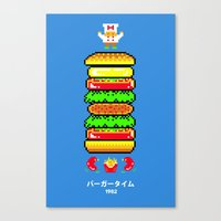 BurgerTime Canvas Print