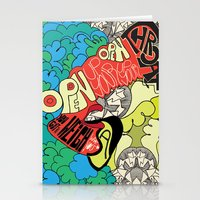 Animal Collective Stationery Cards